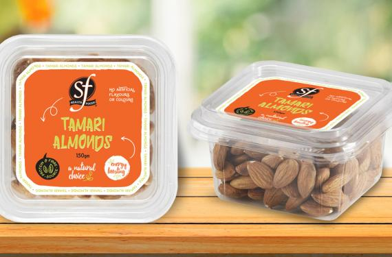 Nut Range Label Design